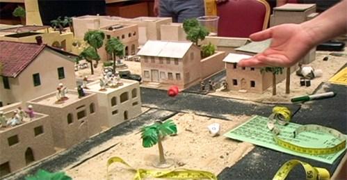 "Brian Conley - ""Miniature War in Iraq,"" 2010, Detail View at The Boiler"
