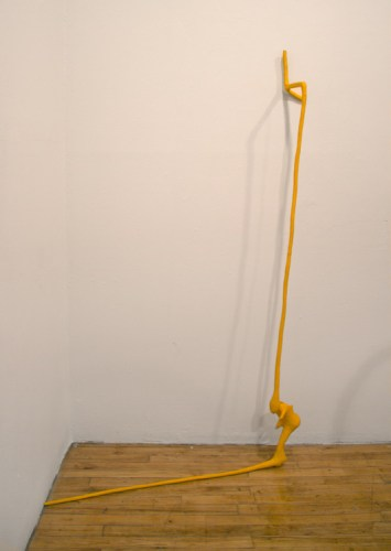 Ankle - 2013-2015, Clay, steel, Approx. 64 x 37 x 19 inches