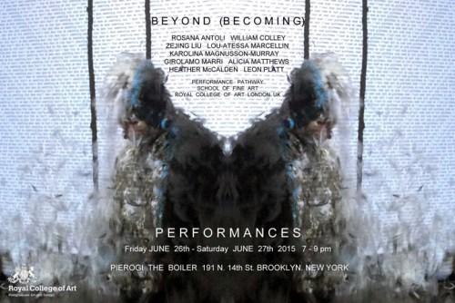 Beyond (Becoming) - Invitation Image