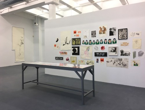 Dawn Clements - Installation view MANA Contemporary NJ, Sixth Floor Gallery. May 2021