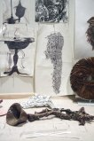 Dawn Clements - Studio view, invitation image