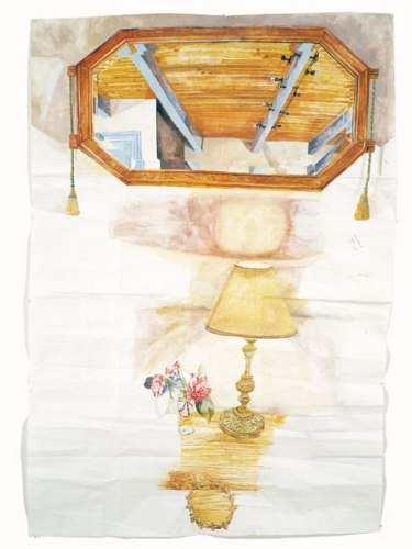 Dawn Clements - Pont Aven, 2005, Gouache on Paper, 83 x 60 inches