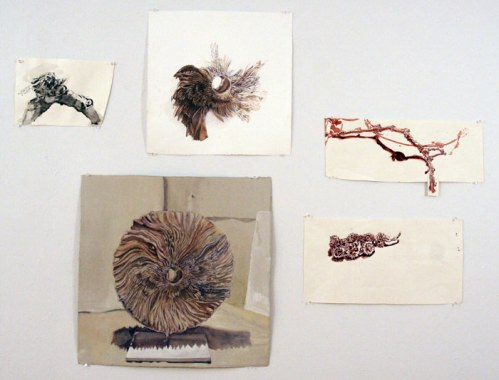 Small Works on Paper - Various small works, 2011, gouache on paper