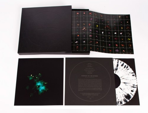 Harmoney of the Spheres Box Set - 2014, LP records, recycled vinyl, included in a limited edition box set of 100