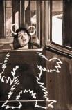 Hugo Crosthwaite - Bear Sleep, 2012, Ink on paper, 8.5 x 5.5 inches