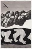 Hugo Crosthwaite - Untitled (HC001), 2021, Ink wash and acrylic on paper, 8.5 x 5.5 inches