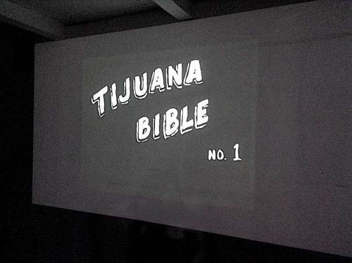 "Hugo Crosthwaite - ""Tijuana Bible,"" Video projection"