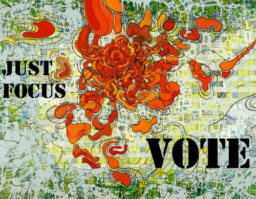 Lisa Corinne Davis - Just Focus Vote