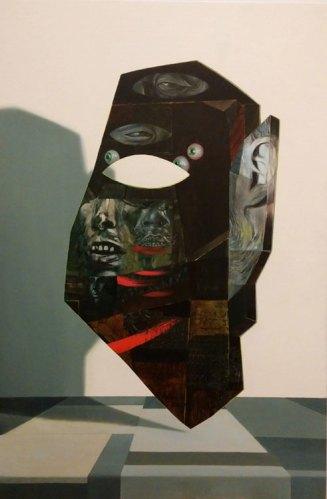 "Kirsten Deirup - ""Sense Memory,"" 2014, oil on linen, 30 x 20 inches"