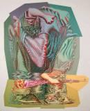 "James Esber - ""Scrum,"" 2008, Acrylic on PVC Panel, Approximately 109 x 87 inches"
