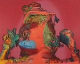 "James Esber - ""Hero,"" 2021, Acrylic on PVC panel, 48 x 62.5 inches"