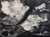"Elliott Green - ""Sky Vac,"" 2017, Oil on linen, 18 x 24 inches"