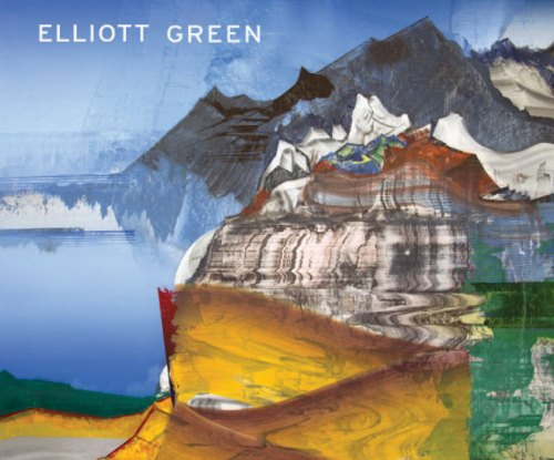 """Elliott Green - Catalogue available. Essay by Jana Prikryl. Catalogue cover image: """"Beach Mountain"""" (Detail), 2015, Oil on linen 76 x 54 inches"""