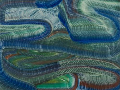"Elliott Green - ""Oregon,"" 2018, Oil on linen, 12 x 16 inches"