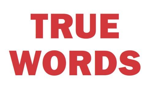 """Jenny Holzer - """"TrueWords"""""""