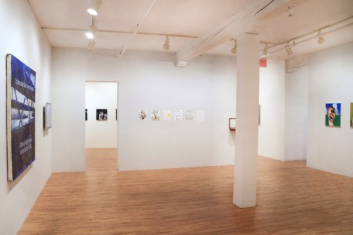 no title - Installation view