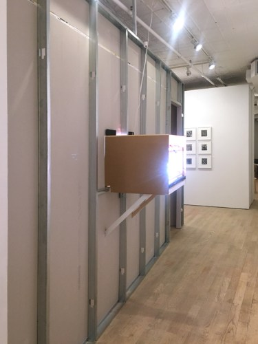 "Patrick Jacobs - ""Room of Nocturnes,"" Installation view exterior, Pierogi October 2020"