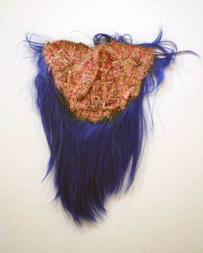 Mop 4 - 2009, Mixed Media, Approximately 24.5 x 21.5 inches