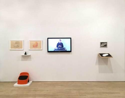 Stephen Kaltenbach - Installation view at Pierogi, 2019