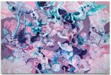 "Darina Karpov - ""Out of the Ruins of an Old Planet,"" 2020, Flashe and acrylic on canvas,  48 x 72 inches"