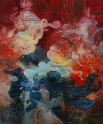 Shadow Cave - 2013, oil on linen, 72 x 60 inches
