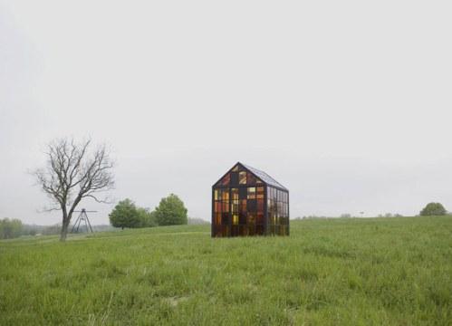 Solarium - Installation view at Storm King, May 2012