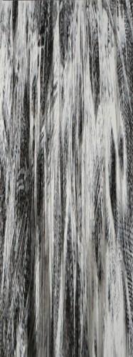 "Yoon Lee - ""Fall 3,"" 2016, Acrylic on PVC panel, 96 x 36 inches"