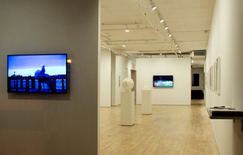 """no title - Installation view: Ati Maier, """"The Placeless Place"""""""