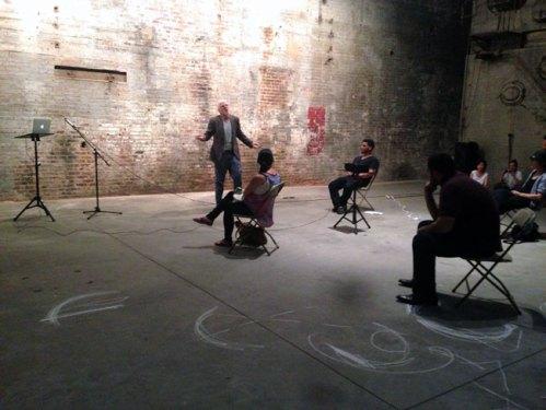 Girolamo Marri - Beyond (Becoming) performance at The Boiler