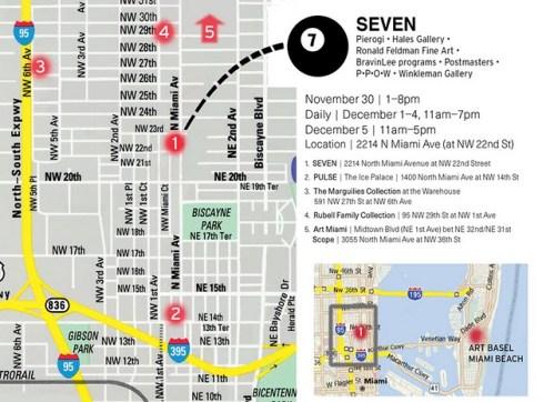 Miami map - Miami map