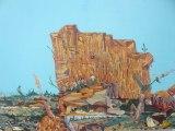 "Johan Nobell - ""Hobo Mountain,"" 2009, Oil on linen, 16 x 23.5 inches"