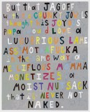 "John O'Connor - ""JKLMN,"" 2016, Acrylic on panel, 20.25 x 16 inches"