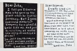 Love Letters (Diptych)