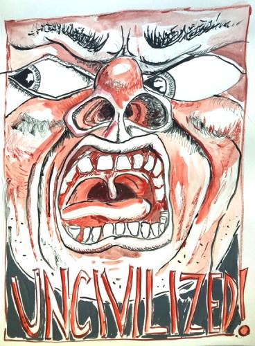 "David Petersen - ""Uncivilized!"""