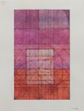 """Mark Reynolds - """"Phi Series: Primal Moment of the Square, Rectangle, and 90 Degree Angle, 6.15,"""" 2015, Watercolor, ink, and graphite on cotton paper, 24 x 18 inches"""