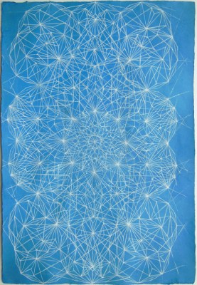 Constellation, 2006, pen on paper, 13 x 8 inches