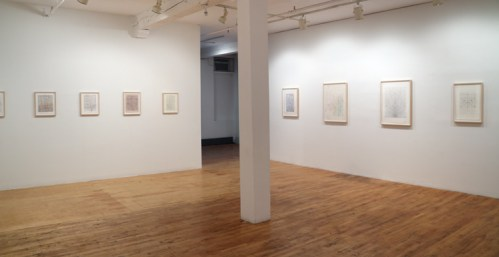 Installation view of Deeper Secrets and the Aevum of Geometry - no description