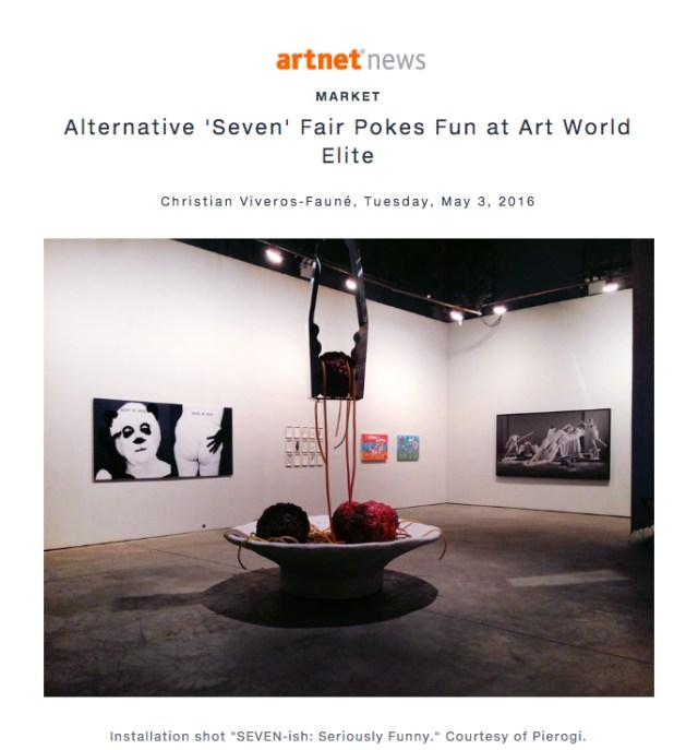 Artnet News press clip