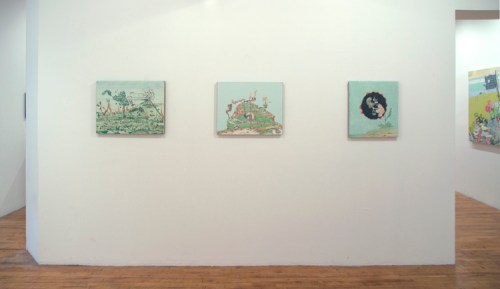"""""""Scape-ism"""" - Installation view"""