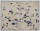 "David Scher - ""6 volt,"" Mixed media on paper, 34.75 x 45 inches"