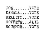 James Siena - Vote