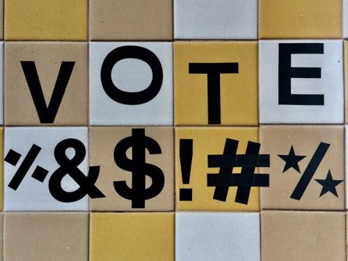 "Stacy Greene - ""VOTE %&$!#%"""