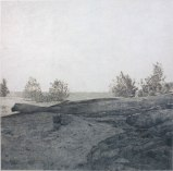 "John Stoney - ""Understanding Landscape Photography #3, Lower Hudson,"" 2009, Colored pencil on rag paper, 30 x 30 inches"