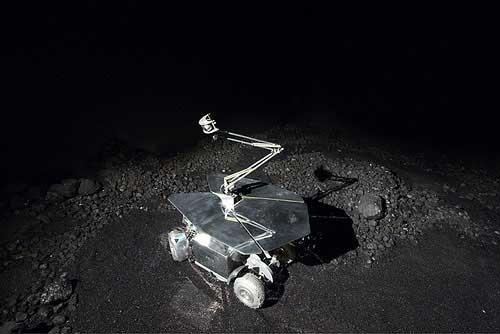 Rover 3 - 2008, Trailer, computers, coal, tar, robotic rover, cameras, sound system, data transmitter