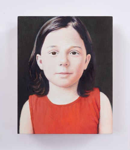"Jim Torok - ""Sylvia,"" 2016, Oil on panel, 3.75 x 3 inches"