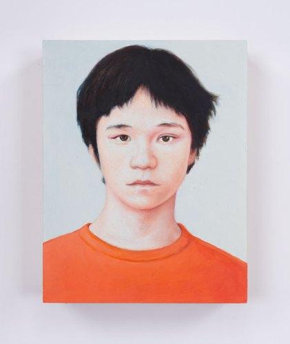 "Jim Torok - ""Desi,"" 2016, Oil on panel, 5 x 3.75 inches"