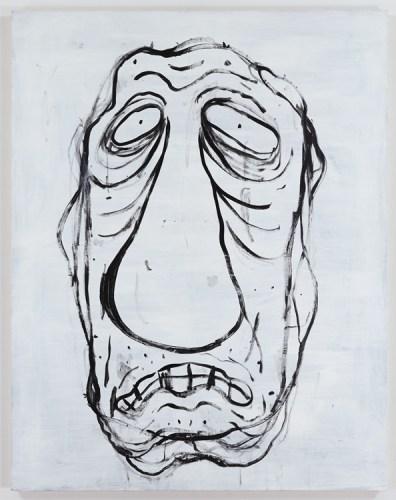 "Jim Torok - ""Head,"" 2016, Acrylic on Panel, 60 x 47 inches"