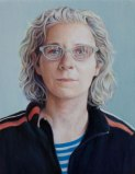 Joanna - 2010, Oil on panel, 5 x 3 7/8 inches