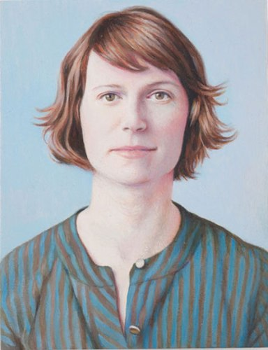 Sarah Hotchkiss - 2010, Oil on panel, 5 x 3 7/8 inches