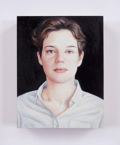 "Jim Torok - ""Sonia,"" 2016, Oil on panel, 3.75 x 3 inches"